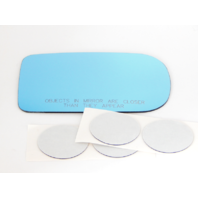 Fits BMW 740i il 750il Series Right Pass Mirror Glass Lens Blue w/Adhesive