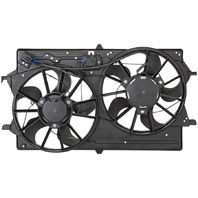Fits 01-02  Focus Dual Cooling Fan Assembly With AC