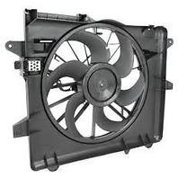 Fits 05-12 Mustang Cooling Fan Assem, 13-14 Mustang 3.7L/5.0L W/O Transmission Cooler