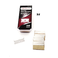 400 Single Edge Razor Blades  .012 Heavy Duty Industrial Grade