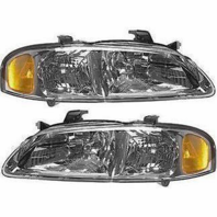 Fits 00-01  SENTRA LEFT & RIGHT SET HEADLAMP ASSEMBLIES