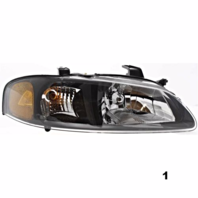 Fits 00-01  SENTRA RIGHT PASSENGER HEADLAMP ASSEMBLY