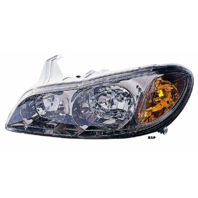 Fits 00-01  I30 LEFT DRIVER HALOGEN HEADLAMP ASSEMBLY With/SMOKED LENS