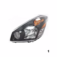 Fits 04-09  QUEST LEFT DRIVER HEADLAMP ASSEMBLY