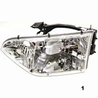 Fits 01-02  QUEST LEFT DRIVER HEADLAMP ASSEMBLY