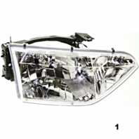 Fits 01-02  QUEST RIGHT PASSENGER HEADLAMP ASSEMBLY