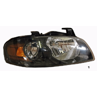Fits 04-06  SENTRA RIGHT PASSENGER HEADLAMP ASSEMBLY With/BLACK HOUSING