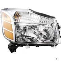 Fits 04-06 NISSAN ARMADA RIGHT PASSENGER HEADLAMP ASSEMBLY
