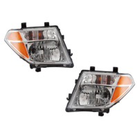 FITS 05-07 NISSAN PATHFINDER LEFT & RIGHT SET HEADLAMP ASSEMBLIES