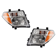 FITS 05-08 NISSAN FRONTIER LEFT & RIGHT SET HEADLAMP ASSEMBLIES