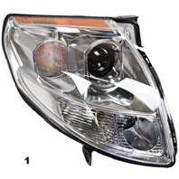 Fits 04-06  MAXIMA LEFT DRIVER HALOGEN HEADLAMP ASSEMBLY