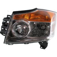 Fits 08-15 NISSAN ARMADA LEFT DRIVER HEADLAMP ASSEMBLY