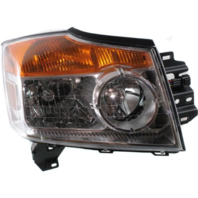 Fits 08-15 NISSAN ARMADA RIGHT PASSENGER HEADLAMP ASSEMBLY