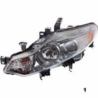 Fits 09-14  MURANO LEFT DRIVER HALOGEN HEADLAMP ASSEMBLY