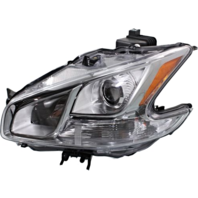 Fits 09-14  MAXIMA LEFT DRIVER HALOGEN HEADLAMP ASSEMBLY