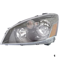 Fits 05-06 NISSAN ALTIMA LEFT DRIVER HALOGEN HEADLAMP ASSEMBLY
