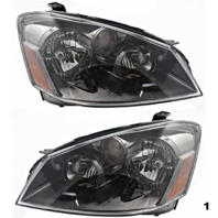 Fits 05-06 NISSAN ALTIMA LEFT & RIGHT SET HALOGEN HEADLAMP ASSEMBLIES