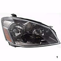 Fits 05-06 NISSAN ALTIMA RIGHT PASSENGER HALOGEN HEADLAMP ASSEMBLY