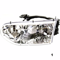 Fits 99-02  VILLAGER LEFT DRIVER HEADLAMP ASSEMBLY