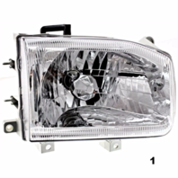 Fits 99-04  PATHFINDER RIGHT PASSENGER HEADLAMP ASSEMBLY FROM 12/98