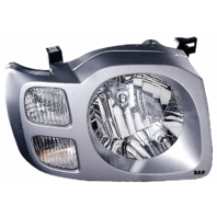 Fits 02-04  XTERRA RIGHT PASSENGER HEADLAMP ASSEMBLY With/SILVER BEZEL
