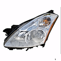 Fits 10-12 NISSAN ALTIMA SEDAN LEFT DRIVER HALOGEN HEADLAMP ASSEMBLY