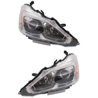 Fits 13-15 NISSAN ALTIMA SEDAN LEFT & RIGHT SET HALOGEN HEADLAMP ASSEMBLIES
