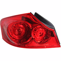 Fits 07-08 Infiniti G35 Sedan / 09-13 Infiniti G37 Sedan /10-12 Infiniti G25 Sedan Left Driver Tail Lamp Assembly Quarter Mounted