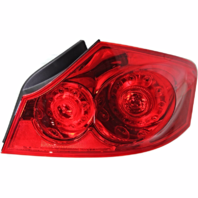 Fits 07-08 Infiniti G35 Sedan / 09-13 Infiniti G37 Sedan / 10-12 Infiniti G25 Sedan Right Passenger Tail Lamp Assembly Quarter Mounted
