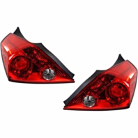 Fits 08-13  ALTIMA COUPE LEFT & RIGHT TAIL LAMP ASSEMBLIES - SET