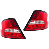 Fits 00-01 NISSAN ALTIMA LEFT & RIGHT SET TAIL LAMP ASSEMBLIES