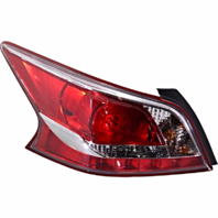 Fits 13-15 NISSAN ALTIMA SEDAN LEFT DRIVER TAIL LAMP ASSEMBLY LED TYPE