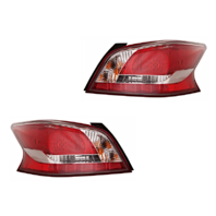Fits 13-15  ALTIMA SEDAN LEFT & RIGHT TAIL LAMP ASSEMBLY LED TYPE - SET