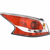 FITS 13-15 NISSAN ALTIMA SEDAN LT DR TAIL LAMP ASSM STAND TYPE W/GREY EDGE TRIM
