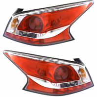 Fits 13-15  ALTIMA SEDAN LEFT & RIGHT TAIL LAMP ASSM W/GREY EDGE TRIM -SET