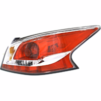 Fits 13-15  ALTIMA SEDAN RIGHT PASS TAIL LAMP ASSM With GREY EDGE TRIM