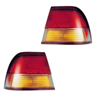 Fits 97-99 Nissan Maxima Left & Right Tail Lamp / Light Quarter Mounted - Set