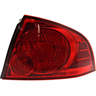 Fits 04-06 NISSAN SENTRA RT PASS TAIL LAMP ASSEMBLY W/RED BEZEL QUARTER MOUNTED