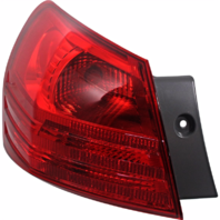 Fits 08-13 NISSAN ROGUE 14-15 SELECT LEFT DRIVER TAIL LAMP ASSEM QUARTER MOUNTED
