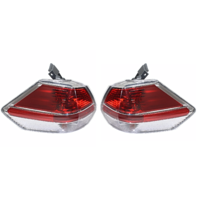 Fits 14-16 NISSAN ROGUE LEFT & RIGHT SET TAIL LAMP ASSEMBLIES QUARTER MOUNTED