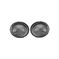 Fits 02-03 Nissan Maxima Left & Right Fog Lamp Assembly - Set