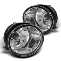 Fits 04-07 Armada 04-14 Titan Left & Right Fog Light Lamp Assembly - Set