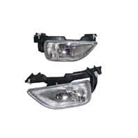 Fits 00-01 Altima Left & Right Fog Lamp / Light Assemblies - Set