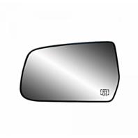 Fits 10-14 Equinox, Terrain Left Driver Heated Mirror Glass w/Rear Back Plate