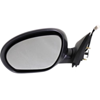 Fits 11-14  Juke Left Driver Power Mirror Unpainted No Heat