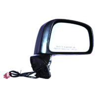 Fits 08-11  Versa Sedan Right Passenger Power Mirror Unpainted Non Heat