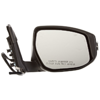Fits 13-15  Altima Sedan Right Pass Unpainted Power Mirror W/Signal No Ht