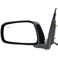 Fits 11-13  Equator Left Driver Unpainted Black Power Mirror With Heat