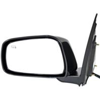 Fits 11-13 Suzuki Equator Left Driver Unpainted Black Power Mirror With Heat