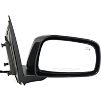 Fits 11-13  Equator Right Pass Unpainted Power Mirror With Heat Black